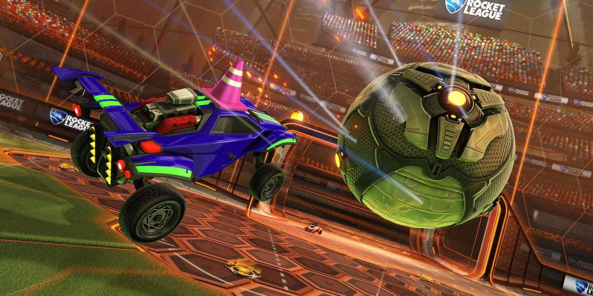 They download Rocket League on the Epic Games Store